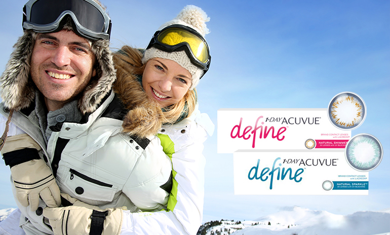 1-Day Acuvue Define : nouveauté de Johnson & Johnson Vision Care